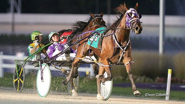 Priceless scores fastest Breeders Crown elim win